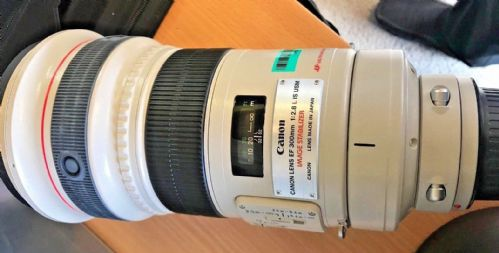 Canon 300mm F2.8 IS USM L image stabilised MK1 lens